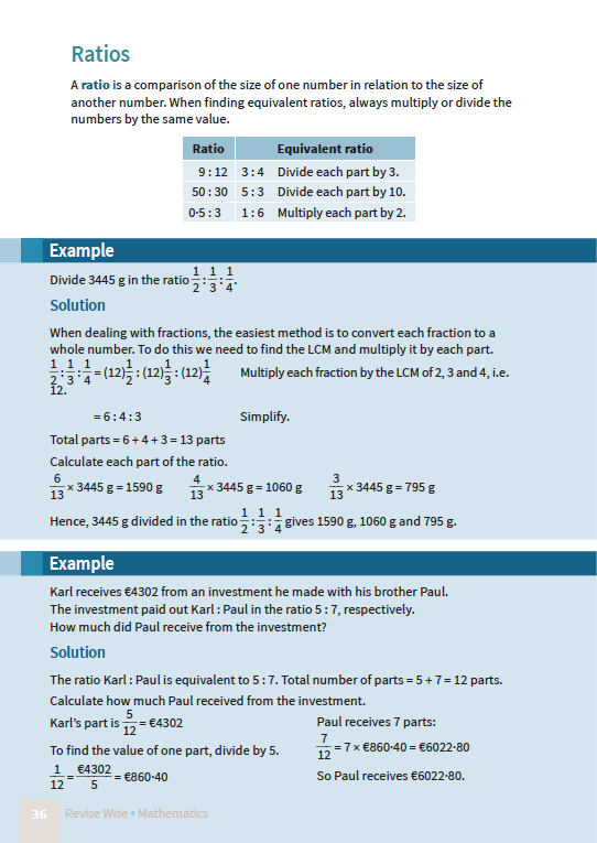 Maths JC HL Paper 1 | Revise Wise