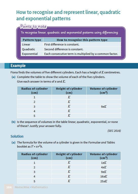 Maths JC HL Paper 1 – Revise Wise