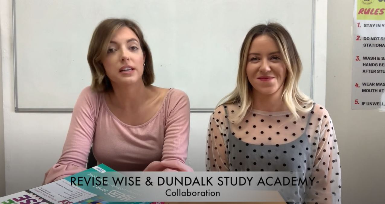 Revise Wise Webinar with Dundalk Study Academy: Study Tips and Preparing for your Exams